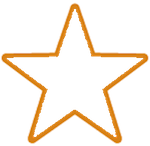 Rating star empty